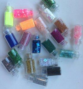 Бульонки для дизайна ногтей