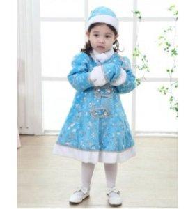 костюм детский снегурочка новый