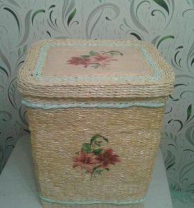 Шкатулки, корзины, вазы и мног
