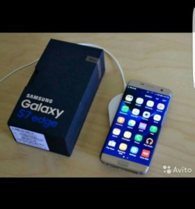 Samsung galaxy S7 edge (платина)