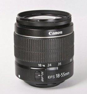 Canon объектив 18-55