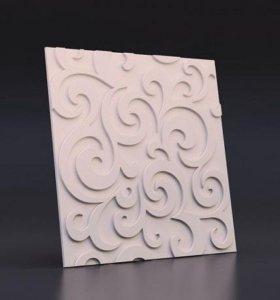 Декоративный камень,3D панель.