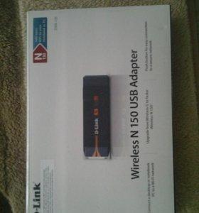 D-Link DVA-125 Беспроводной адаптер USB, 802,11b/g