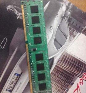 DDR 3  на 2 гб