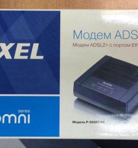Модем ZYXEL ADSL