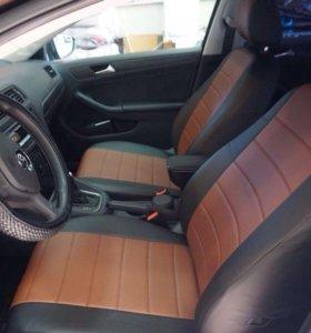 Datsun on-DO - чехлы на сиденья из экокожи