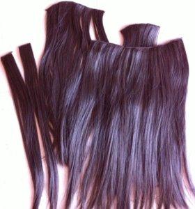 Накладные пряди волос