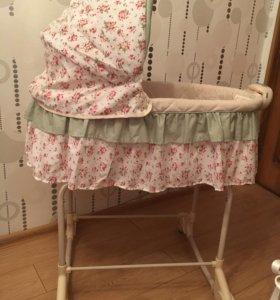 Кроватка-люлька для новорождённого