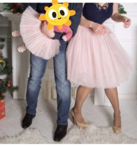 Аренда. 2 юбки ту-ту в стиле family look