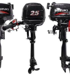 Лодочный мотор Suzuki 2.5