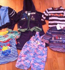 Одежда пакетом на мальчика 1,5-2 года