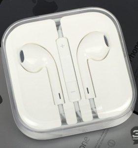 Наушники Apple EarPods оригинал.