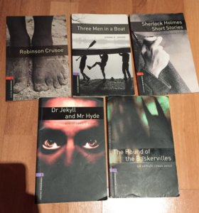 Книги на английском каждая по 50