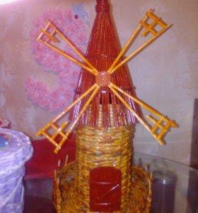 Мельница (символ достатка, благосостояния и успеха