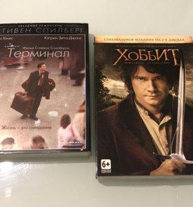"DVD диски ""Хоббит"" и ""Терминал"""