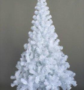Белая елочка