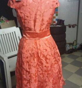 Платье 328 коралл