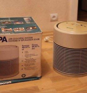 Очиститель, ионизатор воздуха Duracraft HEP