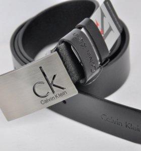 Ремень Calvin Klein Натуральная кожа черный