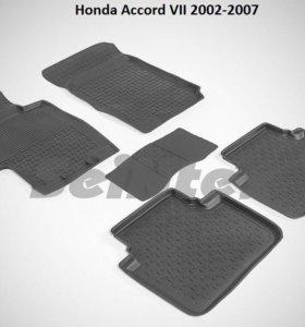 Автоковрики Honda Accord 7 2002-2007г