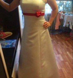 Платье и шубка