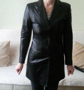 Пиджак коженный