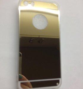 Зеркало золото на 5айфон
