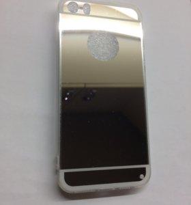 Зеркало на 5айфон серебро