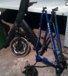 Рама от спортивного велосипеда
