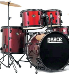 Барабаны Peace DP-101BK-22 Wine Red