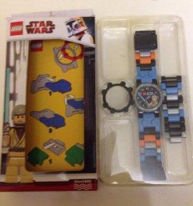 Часы LEGO детские
