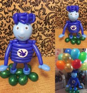 Игрушки из воздушных шаров и многое другое