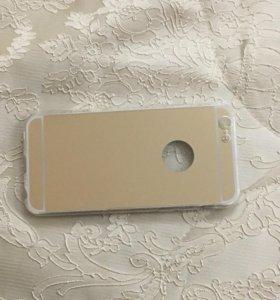 Зеркальная накладка для iPhone 6 6s