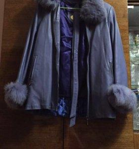 Куртка полностью натуральная 42-44