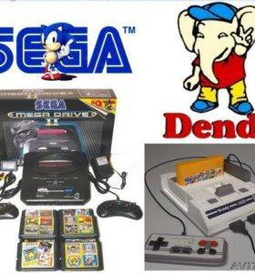 Денди DENDY JUNIOR + пистолет и 99999999 игр