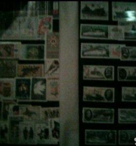 Коллекционные марки., цена договорная