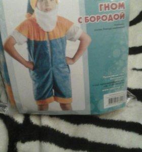 Новогодний костюм гнома на 4- 5 лет