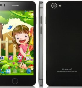 Смартфон Pomp Phone BLACK 32GB Rom 2gb Ram 5 ips h
