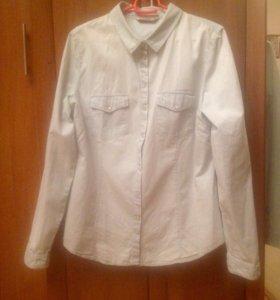 Рубашка Bershka Denim Collection