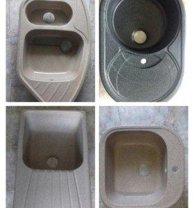 Кухонные мойки (мрамор,гранит)