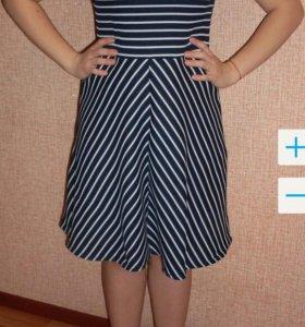 Платье женское р 46 б/у