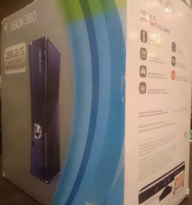 XBOX 360 + KINECT+ 5 игр