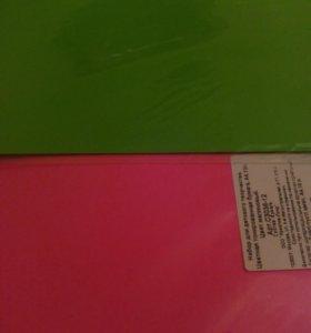 Набор, цветная тонированная бумага