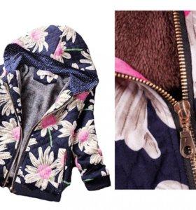 Тёплая Куртка для девочки на заказ