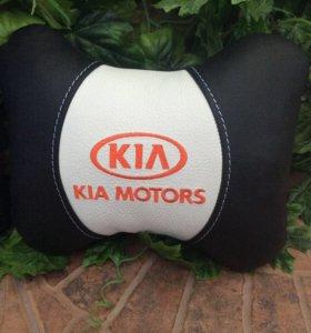 Киа. Ортопедические подушки на подголовник