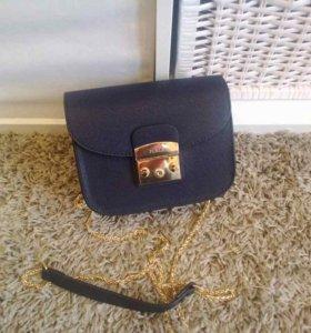 Женская сумка клатч furla metropolis фурла