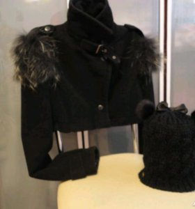 Пальто короткое S, M