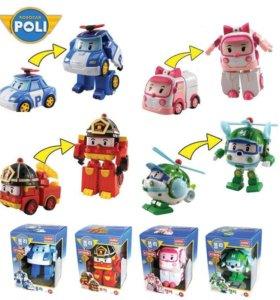 Поли робокар 4 игрушки
