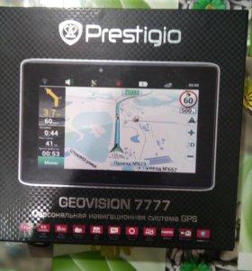 Навигатор  Prestigio geovision 777