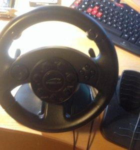 Игровой руль для гонок